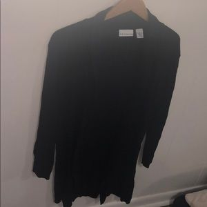 Black Croft & barrow cardigan